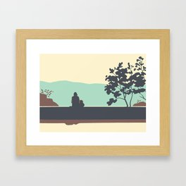 Park Folimanka Framed Art Print