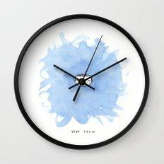 Stay calm Wall Clock