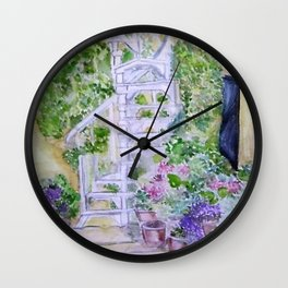 House spring Wall Clock