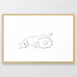 Tails from the C@ Framed Art Print