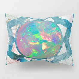 Psychedelic Crystal Lotus 2 Pillow Sham