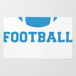 Dillon Panthers Football Rug