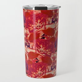 roses profusion in red Travel Mug