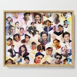 Shahrukh Khan Pillowcase Serving Tray