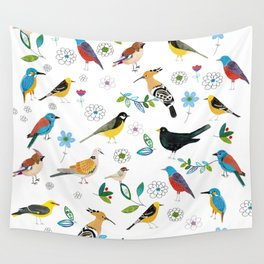 Polish birds Wall Tapestry