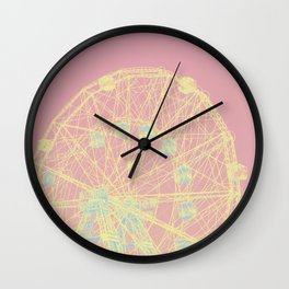 Wonder Wheel Wall Clock
