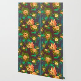 Apricot Anna May Wallpaper