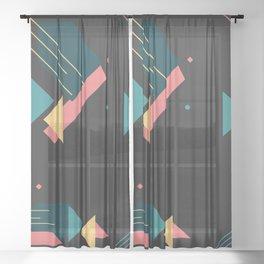 geometry Sheer Curtain