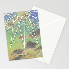 Solarized Burst Stationery Cards