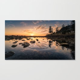 Ripples to Waves Canvas Print