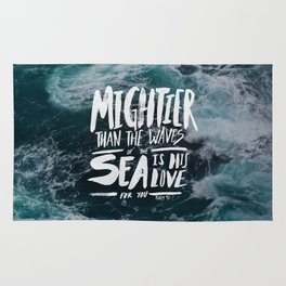 Mightier than the Sea Rug
