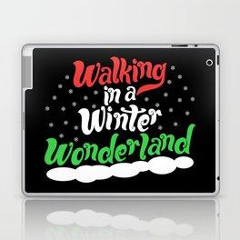 Walking through a Winter Wonderland Laptop & iPad Skin