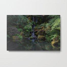 Garden Falls Metal Print