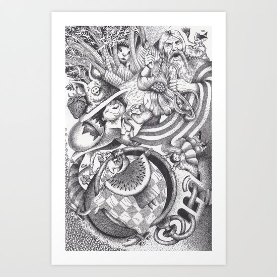 Ilogic Art Print