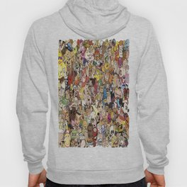 Cartoon Collage Hoody