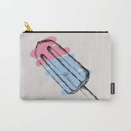 ICE CREAM IS CHEAPER THAN THERAPY Carry-All Pouch
