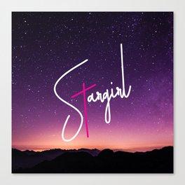 Stargirl Sky Canvas Print