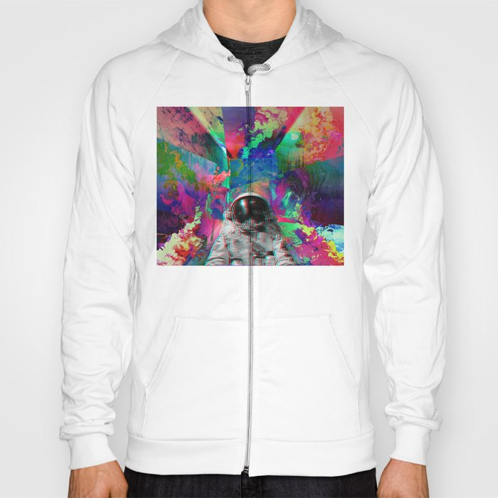 Tripping Space Man Hoody By Mindsgallery Society6
