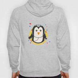 Penguin doctor in circle Hoody