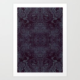 Tatoo weft Art Print