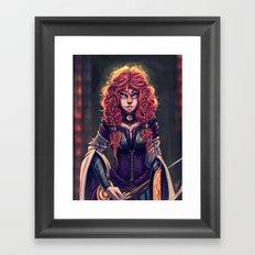Queen of Dunbroch Framed Art Print