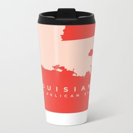 Louisiana Metal Travel Mug