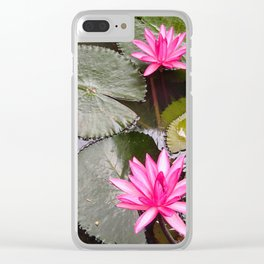 Lilly Clear iPhone Case