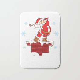 Your Hole Is My Goal Merry Christmas Design For December 25th T-shirt Design Jesus Birthday Carol Bath Mat