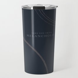 Melancholia, Lars von Trier, minimal movie poster, Danish film Travel Mug