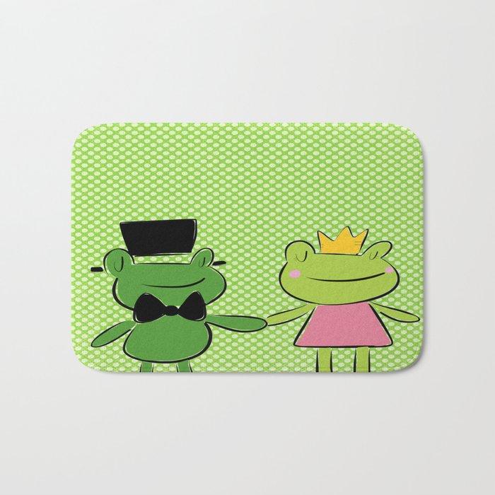 Love Frogs Bath Mat