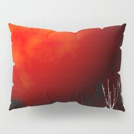 Blood Orange Moon Pillow Sham