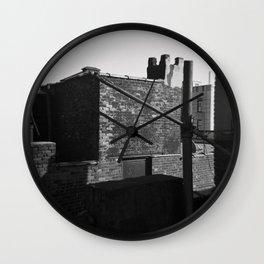 Brick and Mortar Wall Clock