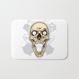 Skull 002 Bath Mat