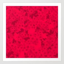 Subtle Blossom (Cherry) Art Print