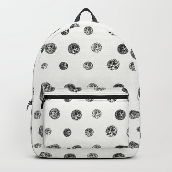 Bristle Polka Dot Backpack