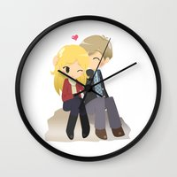 ouat Wall Clocks featuring OUAT - Daddy Charming by Choco-Minto