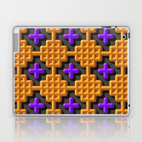 """Cross Stitch"" Laptop & iPad Skin"