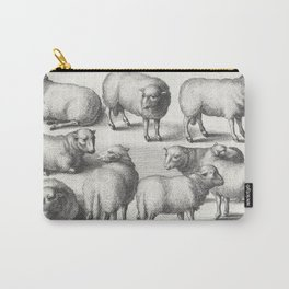 Dutch Masters | Sheep Engraving Carry-All Pouch