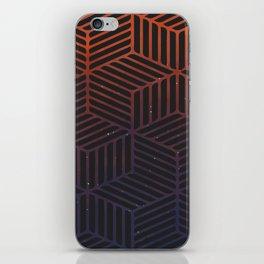 Galaxy pattern iPhone Skin