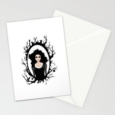 I keep my dark thoughts deep inside. Stationery Cards