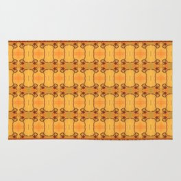 Ebola Tapestry-1 by Alhan Irwin Rug