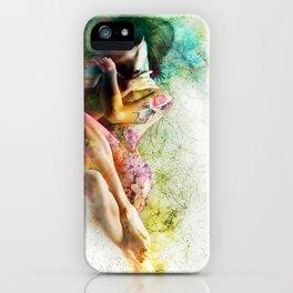 Self-Loving Embrace iPhone Case