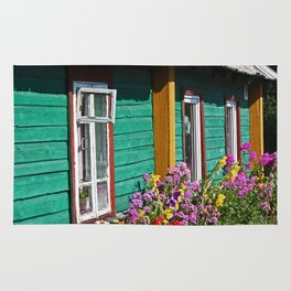 House in Trakai Rug