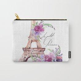 Eiffel Tower Vintage Paris France Carry-All Pouch