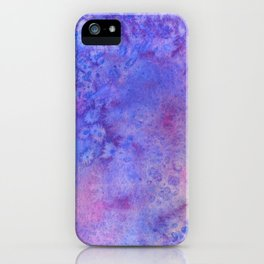 Lilac Waves iPhone Case