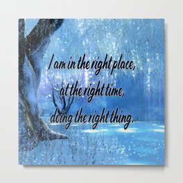 Doing All Right Metal Print