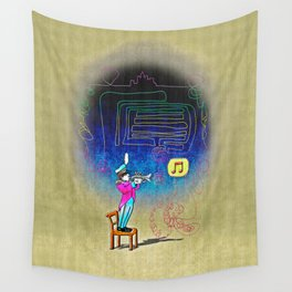 Make your own kind of music! Wall Tapestry