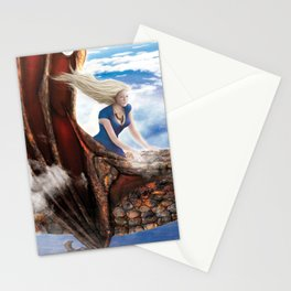 Flying with Drogon Stationery Cards