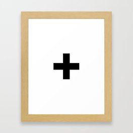 plus v.2 Framed Art Print