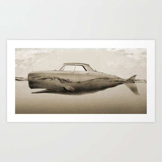 the Buick of the sea Art Print